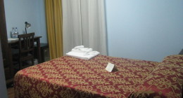 Three-quarter bed room